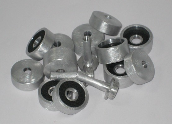 Full Trim Kit - Cylinder Style - Aluminum