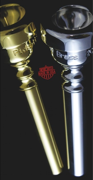 Scratch and Dent 1 Piece Trumpet Mouthpiece: 1.25C/#1BB/27R